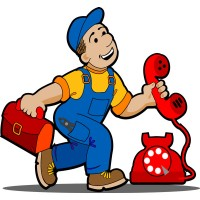 a telephone repairman